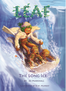 Twig Stories ~ Leaf & the Long Ice - front cvr