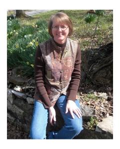 Susan Holmes at Crescent Hotel in Eureka Springs 4-4-14