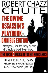 TWEAKED JESUS OMNIBUS COVER WITH CROSS