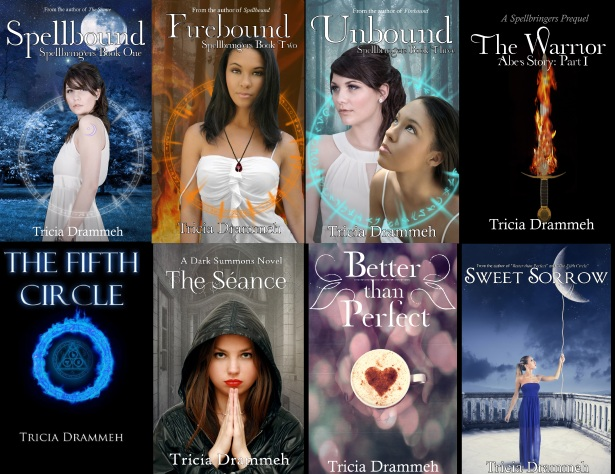Book Covers Tricia Drammeh